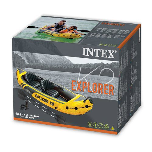 Intex Explorer K2 inflatable Kayak in box