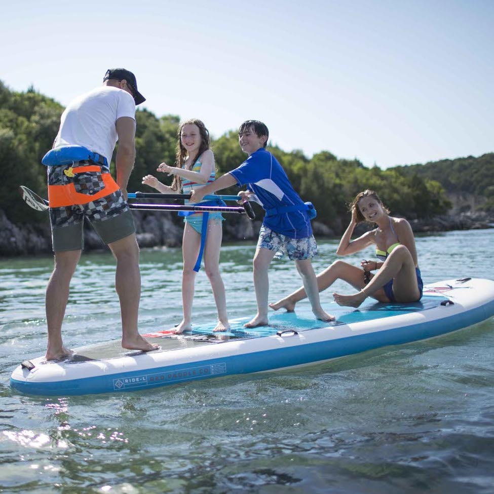 Bets inflatable stand up paddle board for family