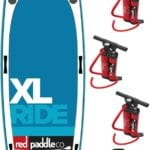 XL multi-use inflatable SUP board for large groups, friends, families