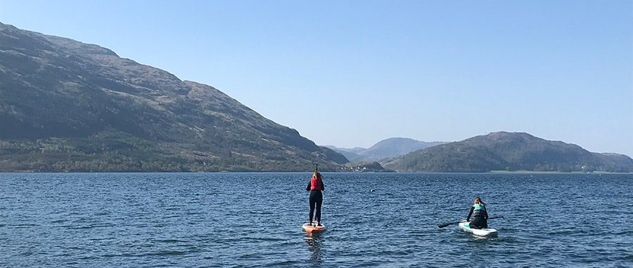 inflatable touring SUP board by Decathlon