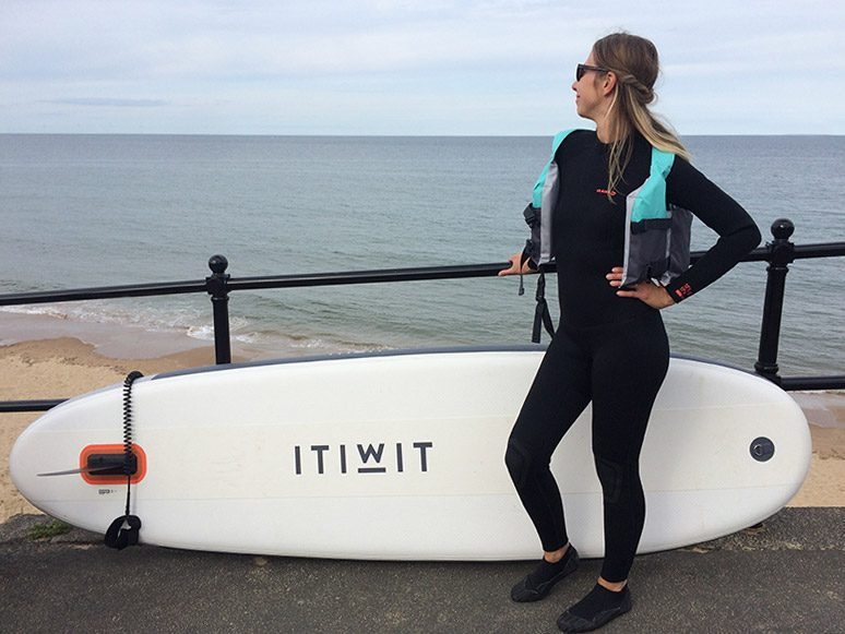 SUP session Tynemouth
