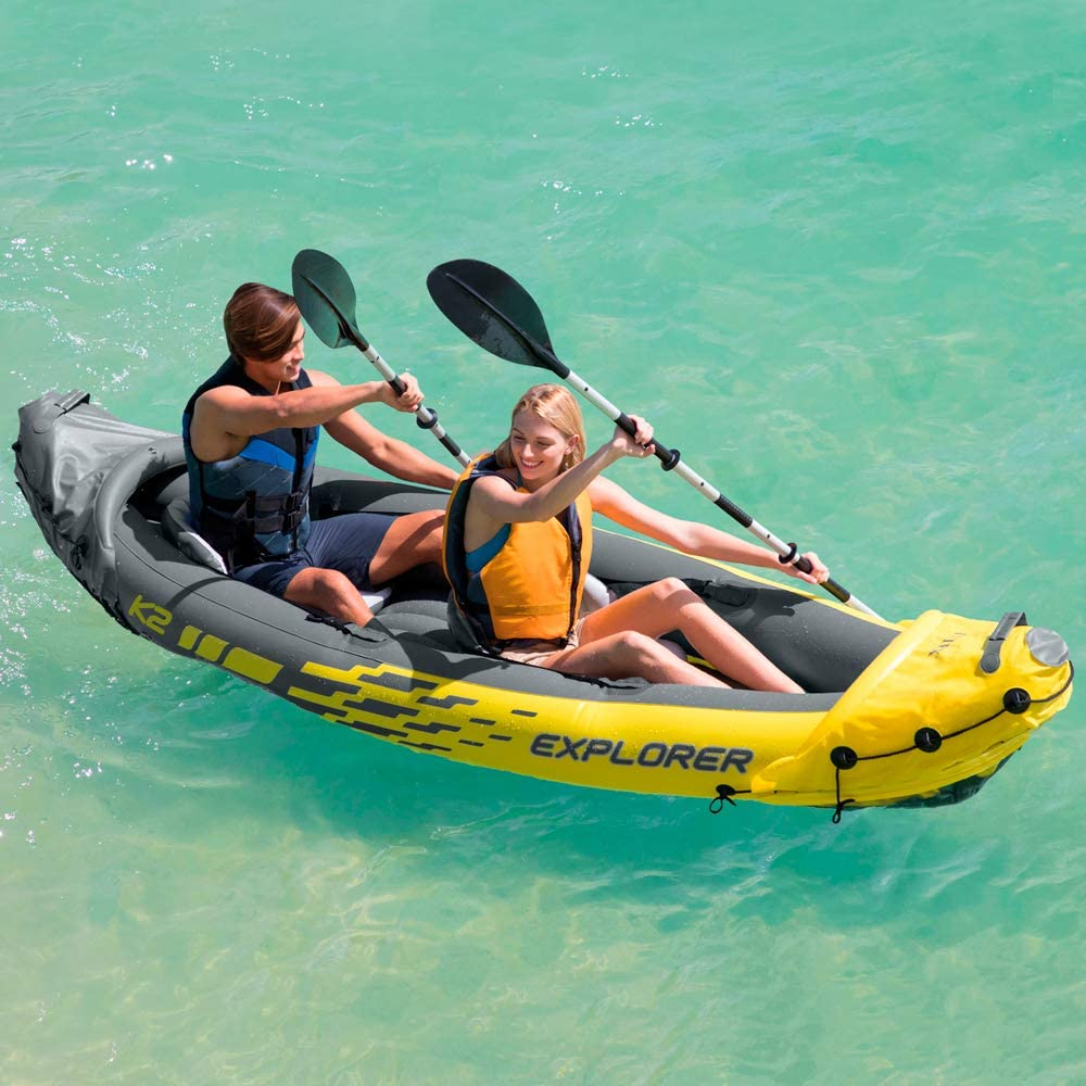 Intex Explorer K2 - one of the best inflatable kayaks