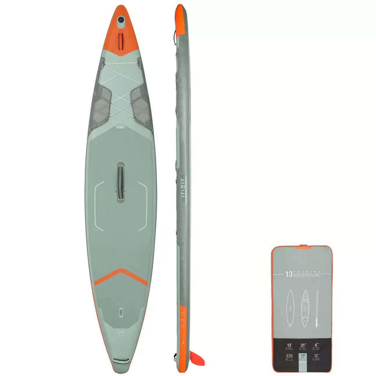ITIWIT inflatable touring paddle board X500