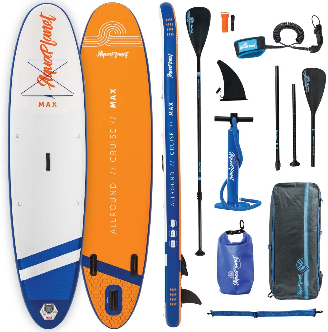 Aquaplanet MAX, One of the best budget inflatable sup boards available