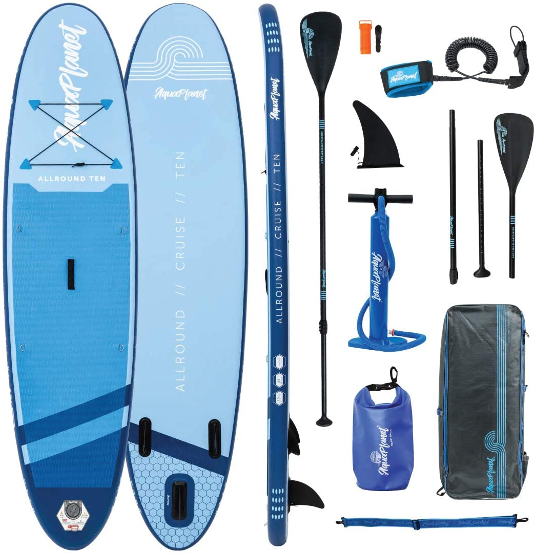 Aquaplanet Allround Ten, One of the top 10 best budget inflatable sup boards