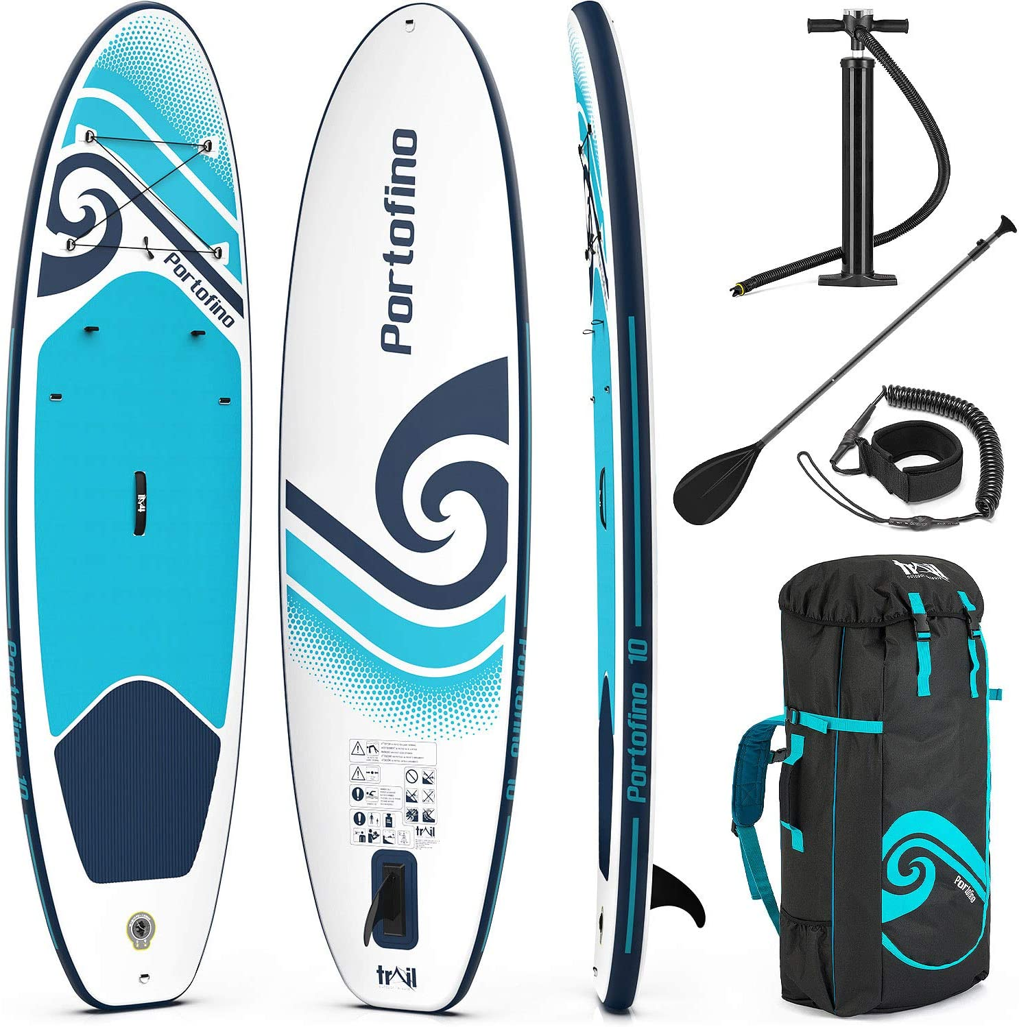 Portofino budget inflatable stand up paddle board